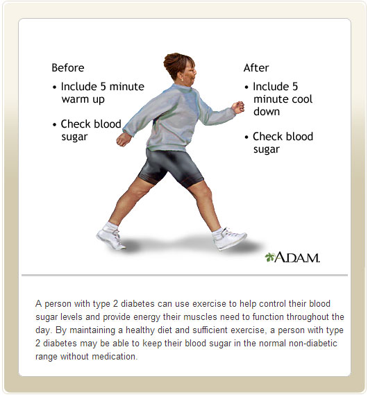 Exercise to Help Control Blood Sugar